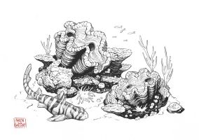 Giant Clams by aaronjohngregory