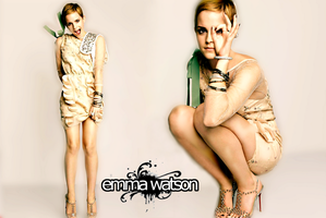 Emma Watson wallpaper 2 by Sugar-spell-it-outt
