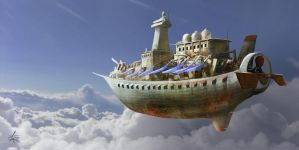 Airship by jjpeabody