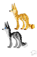 25 Point Canine Adoptables [OPEN] by NeonMonsterBytes