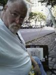 Sketch Artist in Central Park NYC by Michael-Sherman