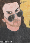 Lars Ulrich by AryTheHead