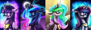 MLP - PRINCESSES by WingsterWin