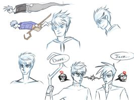 Jack and Danny Sketches by Pyro-Archer