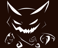 Haunter Pumpkin Stencil by xIOTAx