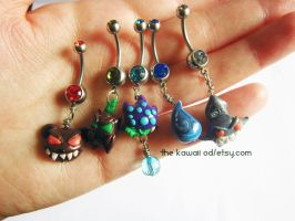New belly button rings League of Legends by Thekawaiiod