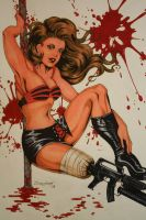 Planet Terror, Cherry by cimmerianwillow