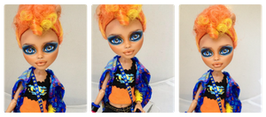 Monster High Howleen Wolf repaint #1 by RogueLively