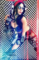 MRS. TORGUE- borderlands by Its-Raining-Neon