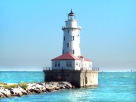 Chicago Lighthouse by kilroyart
