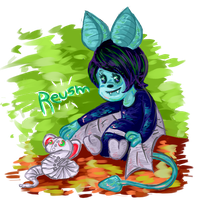 Reusm - Neopets request by astro-cosmos