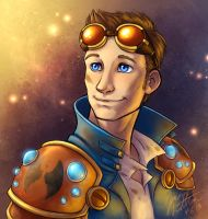 Faces of Wildstar - Gaius Caster by evion