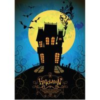 Free Vector illustration of scary halloween night by cgvector