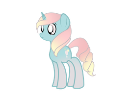 Adoptable pony by MlpFimColordrop