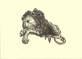 Lion by Contrapposto