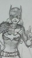 Sexy is an Attitude-Batgirl WIP by Bent-Lantern
