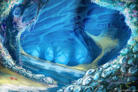 Crystal Cave by Chillay
