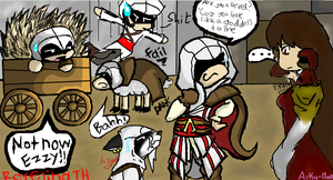 Assassin's Bet Part 2 by Roselinath