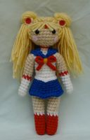 chibi sailor moon amigurumi by TheArtisansNook