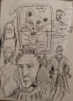 Doodle from my high school senior class#1 by CharlieJacksonPaine3