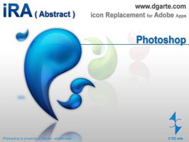 iRA-abstract- Photoshop icon by dgarte
