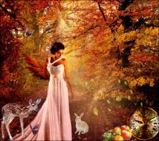 Fairy of autumn by Helenna27