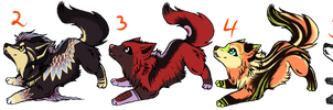 Point adoptables set 1 All adopted by Skritnaja