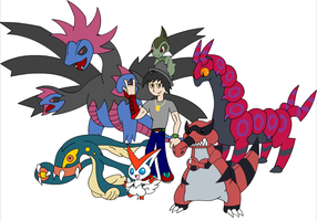 My Poke Family by HorrorshowMania