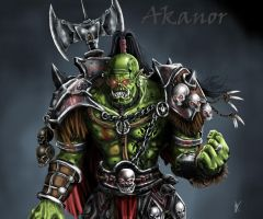 Orc Akanor by tjodalv00