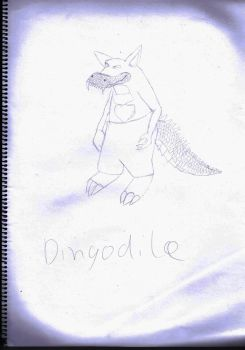 Dindodile Sketch by Bloodfire09