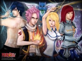 LN_FA.FairyTail: StrongestTeam by littlenechan