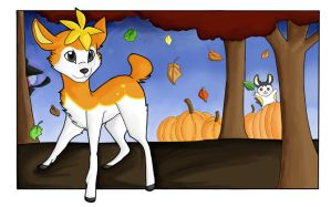 Fall - Pokemon Black and White by pagedrillgirl