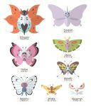 Butterflies Collection by Citron--Vert