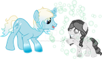 Bubble Wish and Blindsense by asdflove