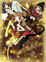 oO Happy Hallowen Oo by hermyon