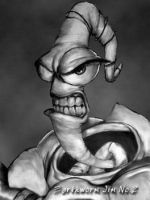 Earthworm Jim 2 by edelmeier