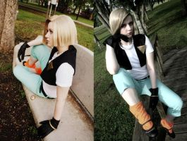 DBZ- Android 18 by Hopie-chan