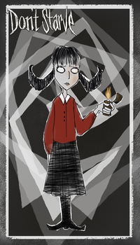 Don't Starve*Willow* by JulieDraw2046
