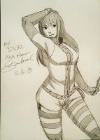 Yume Uchiha signed and dated by deadvampire32