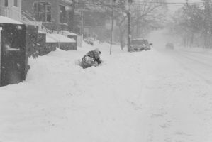 2015 January Blizzard,Snow Football Play and Dive3 by Miss-Tbones