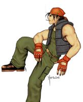 Ralf - King of fighters by Hesde