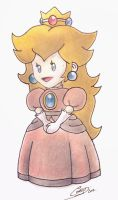 Peach Princess -Paper Mario The Thousand Year Door by Javierx1991