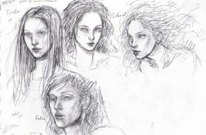 Sketches by Taillte