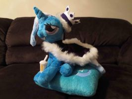 Pampered Trixie by wilshirewolf