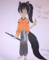 Half Wolf Demon of Fire and Wisdom (Inuyasha OC) by Kogalover4ever