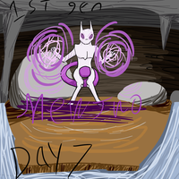 Mewtwo 30 day challenge by HoneyShuckle
