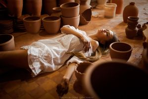among pots by DenisGoncharov