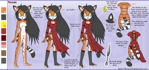 Kunai The Siberian Tiger: Full Ref by Agent-Arizona