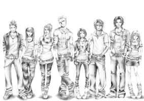 Mi Final Fantasy VIII by Riny-san