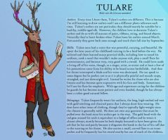 Character Sheet: Tulare by Catamount